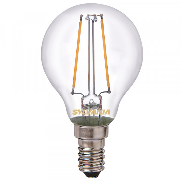 Sylvania LED-Lampe ToLEDo Retro, Tropfen, 4W, E14