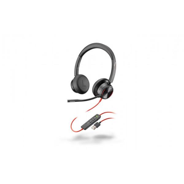 Poly Headset Blackwire 8225 UC USB-A