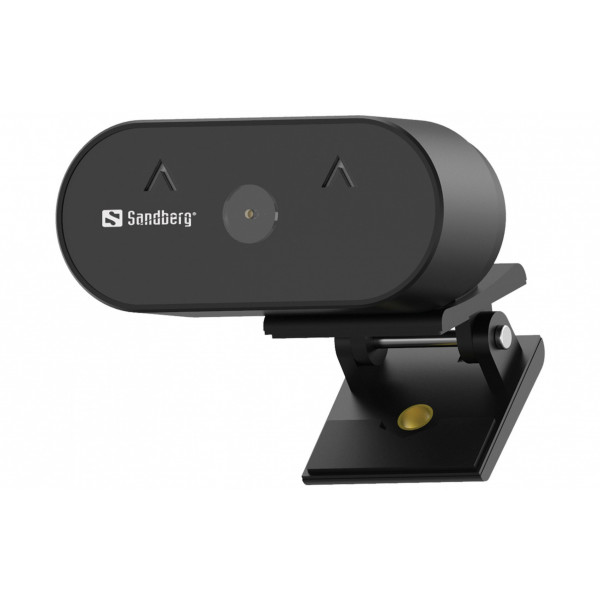 Sandberg Wide Angle 120° USB Webcam 1080P 30 fps