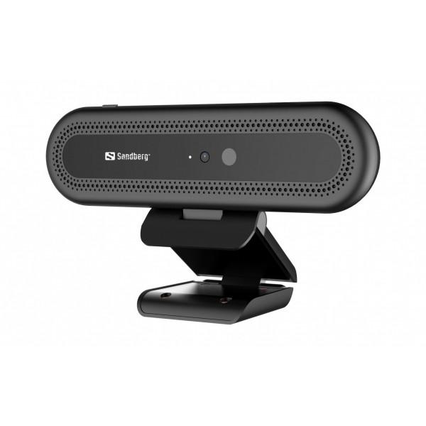 Sandberg Face Recognition USB Webcam 1080P 30 fps
