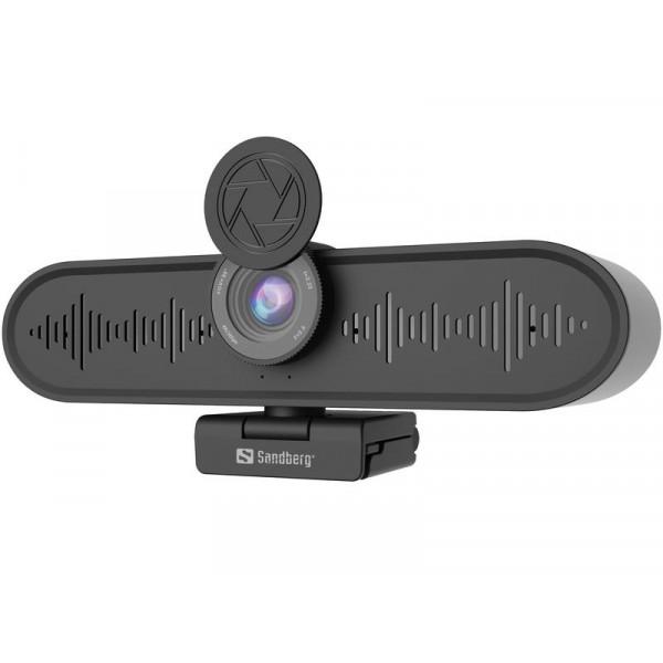 Sandberg All-in-One ConfCam USB Webcam 4K/UHD 15 fps