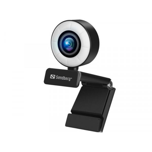 Sandberg Streamer USB Webcam 1080P 30 fps