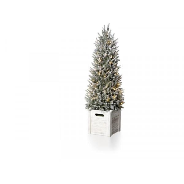 Weihnachtsbaum Snowy Tree gross Grün, 90 LED