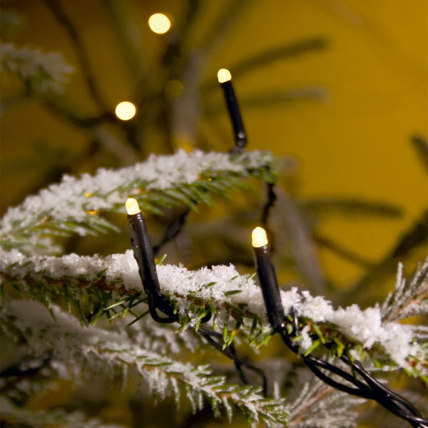 Konstsmide LED-Lichterkette 1624 cm lang 40 LEDs schwarz