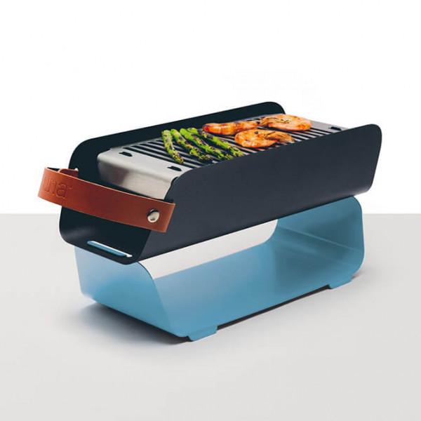 Portabler Grill Una blau