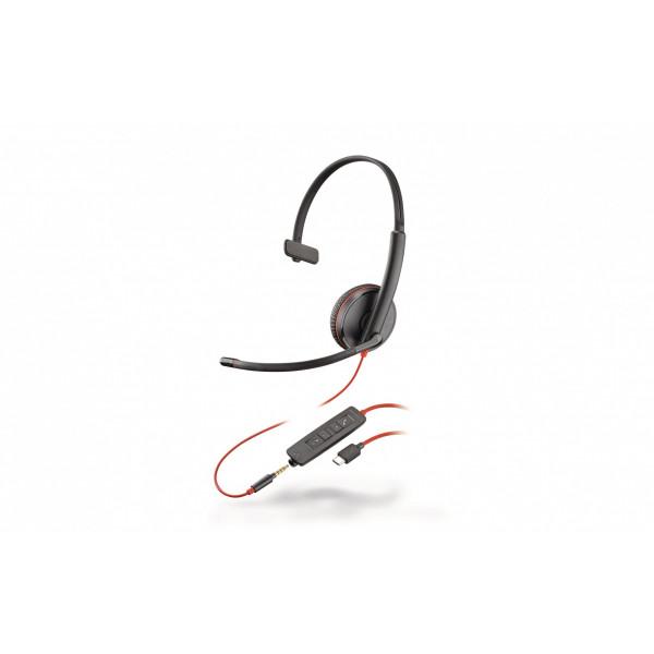 Poly Headset Blackwire 3215 USB-C Mono