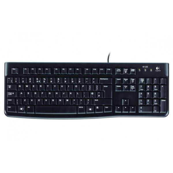 Logitech Tastatur K120 Business CH-Layout
