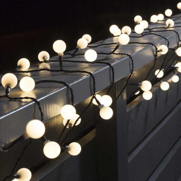 Konstsmide LED-Lichterkette 1132 cm lang 80 LEDs schwarz